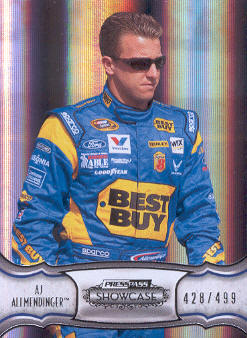 2011 Press Pass Showcase #25 A.J. Allmendinger