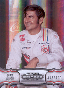 2011 Press Pass Showcase #29 Bobby Allison HOF