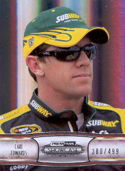 2011 Press Pass Showcase #39 Carl Edwards EE