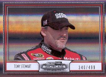 2011 Press Pass Showcase #47 Tony Stewart M