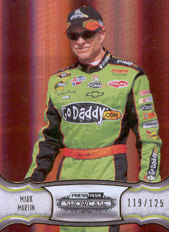 2011 Press Pass Showcase Gold #6 Mark Martin