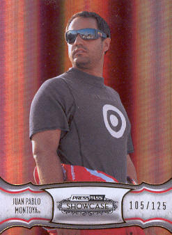 2011 Press Pass Showcase Gold #22 Juan Pablo Montoya