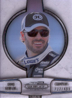 2011 Press Pass Showcase Champions #CH1 Jimmie Johnson