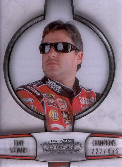 2011 Press Pass Showcase Champions #CH3 Tony Stewart
