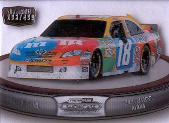 2011 Press Pass Showcase Showroom #SR6 Kyle Busch