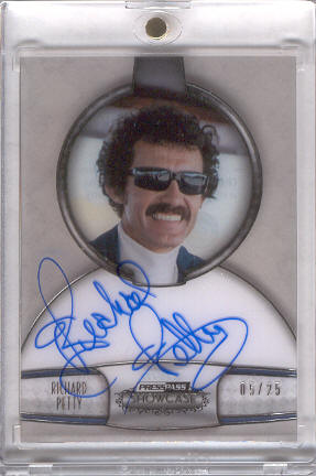 2011 Press Pass Showcase Champions Ink #CHIRP Richard Petty