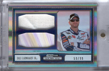 2011 Press Pass Showcase Masterpieces Memorabilia #MPMDEJ Dale Earnhardt Jr