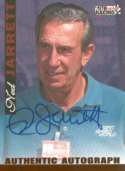 1996 Autographed Racing Autographs #23 Ned Jarrett