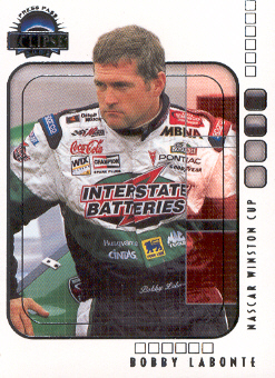 2002 Press Pass Eclipse #6 Bobby Labonte