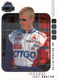 2002 Press Pass Eclipse #10 Jeff Burton