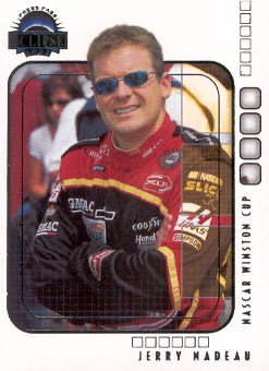 2002 Press Pass Eclipse #14 Jerry Nadeau