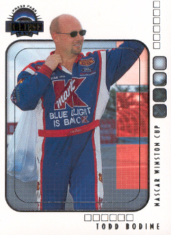 2002 Press Pass Eclipse #24 Todd Bodine