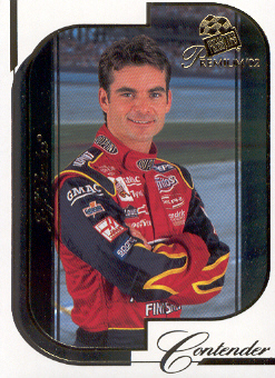 2002 Press Pass Premium #8 Jeff Gordon