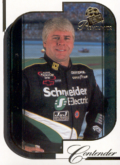 2002 Press Pass Premium #10 Bobby Hamilton