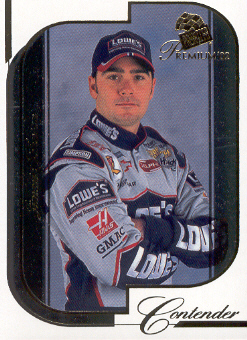 2002 Press Pass Premium #13 Jimmie Johnson CRC