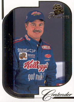 2002 Press Pass Premium #17 Terry Labonte