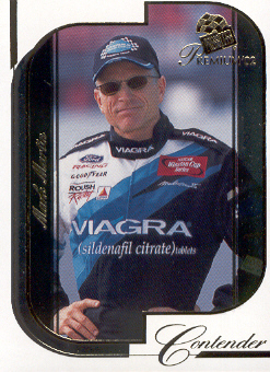 2002 Press Pass Premium #19 Mark Martin