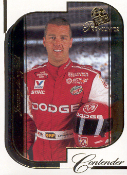 2002 Press Pass Premium #20 Jeremy Mayfield