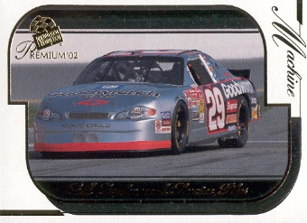 2002 Press Pass Premium #39 Kevin Harvick's Car