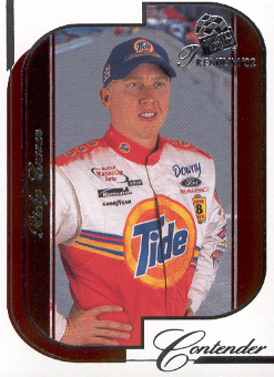2002 Press Pass Premium Red Reflectors #6 Ricky Craven