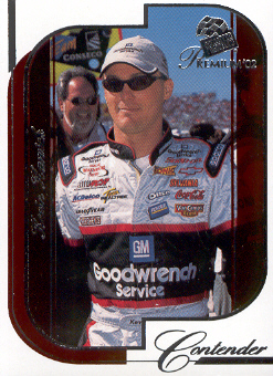 2002 Press Pass Premium Red Reflectors #11 Kevin Harvick