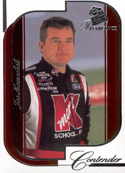 2002 Press Pass Premium Red Reflectors #22 Joe Nemechek