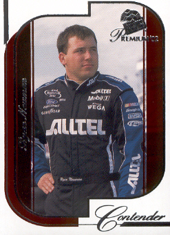 2002 Press Pass Premium Red Reflectors #23 Ryan Newman