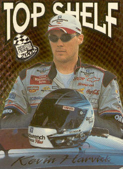 2002 Press Pass Top Shelf #TS3 Kevin Harvick