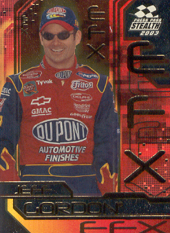 2003 Press Pass Stealth EFX #FX4 Jeff Gordon