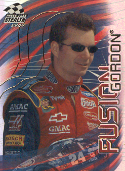 2003 Press Pass Stealth Fusion #FU4 Jeff Gordon