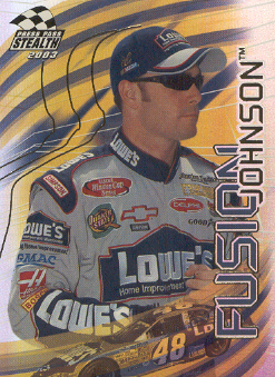2003 Press Pass Stealth Fusion #FU7 Jimmie Johnson