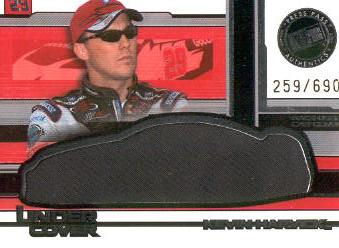 2004 Press Pass Eclipse Under Cover Driver Silver #UCD3 Kevin Harvick