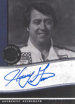 2006 Press Pass Legends Autographs Blue #5 Harry Gant/600