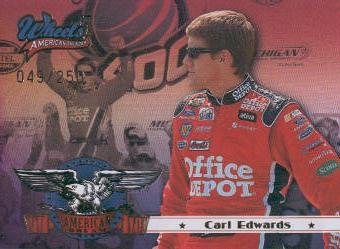 2007 Wheels American Thunder American Dreams Gold #ADG9 Carl Edwards