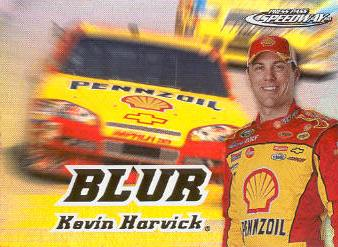2008 Press Pass Speedway Blur #B9 Kevin Harvick