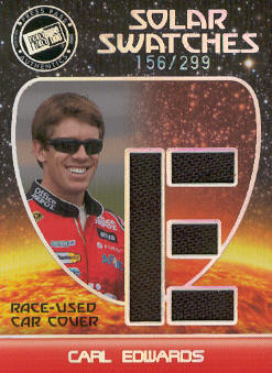 2009 Press Pass Eclipse Solar Swatches #SSCE1 Carl Edwards E/299