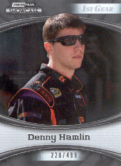 2009 Press Pass Showcase #8 Denny Hamlin