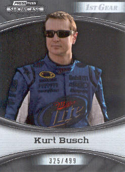 2009 Press Pass Showcase #9 Kurt Busch