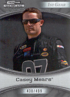 2009 Press Pass Showcase #16 Casey  Mears