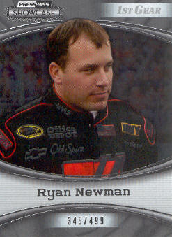 2009 Press Pass Showcase #26 Ryan Newman