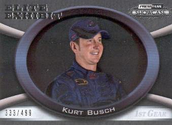 2009 Press Pass Showcase #47 Kurt Busch EE
