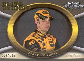 2009 Press Pass Showcase 2nd Gear #46 Matt Kenseth EE