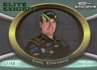 2009 Press Pass Showcase 3rd Gear #42 Carl Edwards EE