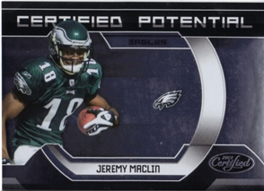 2009 Certified Certified Potential #25 Jeremy Maclin