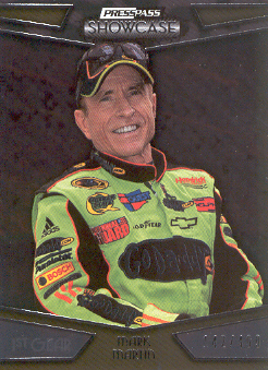 2010 Press Pass Showcase #1 Mark Martin