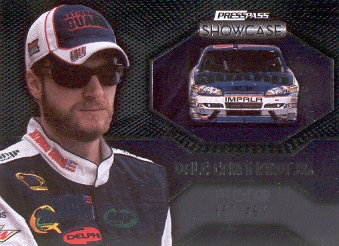 2010 Press Pass Showcase #37 Dale Earnhardt Jr. EE