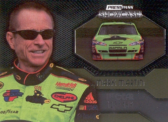 2010 Press Pass Showcase #40 Mark Martin EE