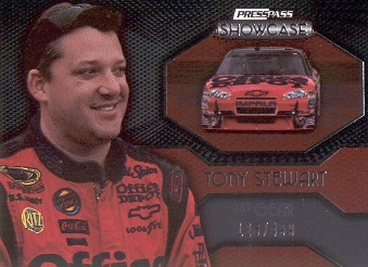 2010 Press Pass Showcase #43 Tony Stewart EE