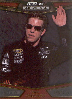 2010 Press Pass Showcase Gold #27 Brad Keselowski