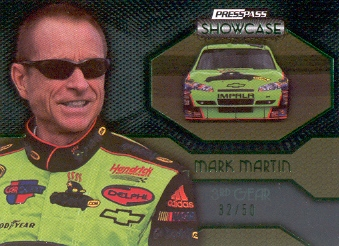 2010 Press Pass Showcase Green #40 Mark Martin EE